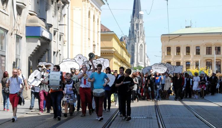 Program hlavního dne olomouckého Majálesu nabídne průvod městem i koncerty
