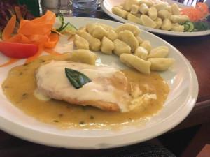 Jídlo v Restauraci u Huberta