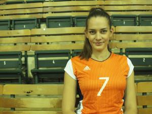 Olomoucká volejbalistka Bernarda Ćutuk