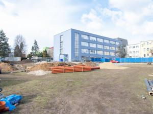 stavba Hemato-onkologické kliniky