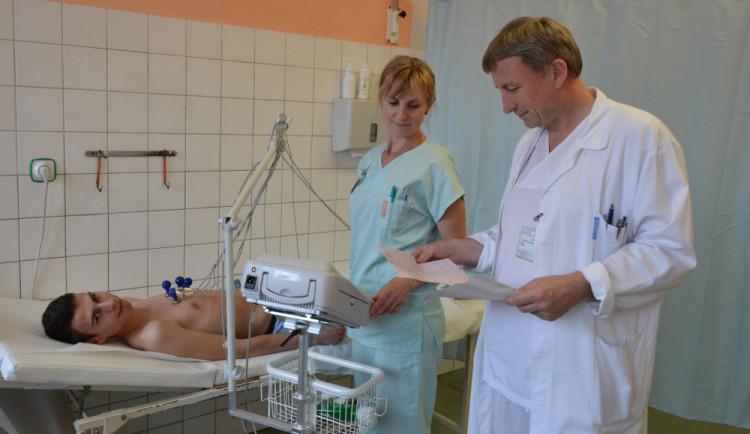 V přerovské nemocnici vyšetřují pacienty novými EKG přístroji