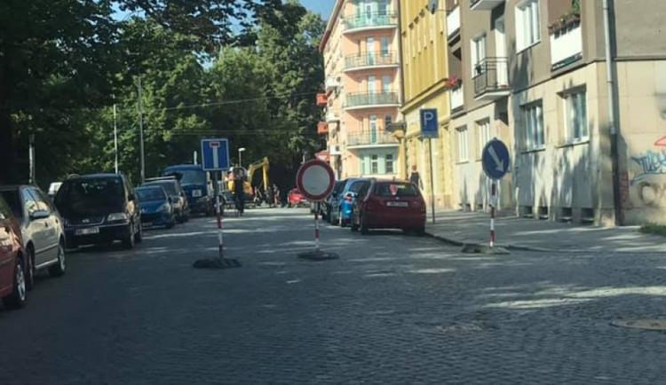 AKTUÁLNĚ: UliciDr. Milady Horákovéuzavřela havárie vodovodního řadu