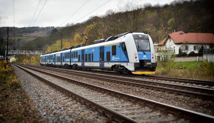 Vlaky z Hustopečí do Valašského Meziříčí budou jezdit rychlostí 160 kilometrů za hodinu