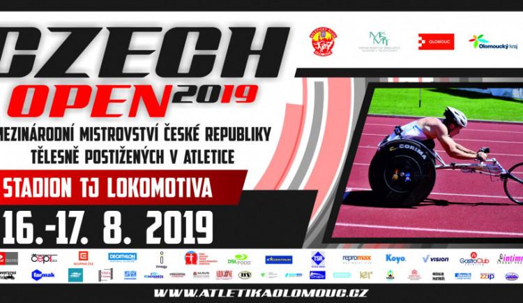 V Olomouci probíhá třináctý ročník mezinárodního mítinku tělesně postižených Czech Open