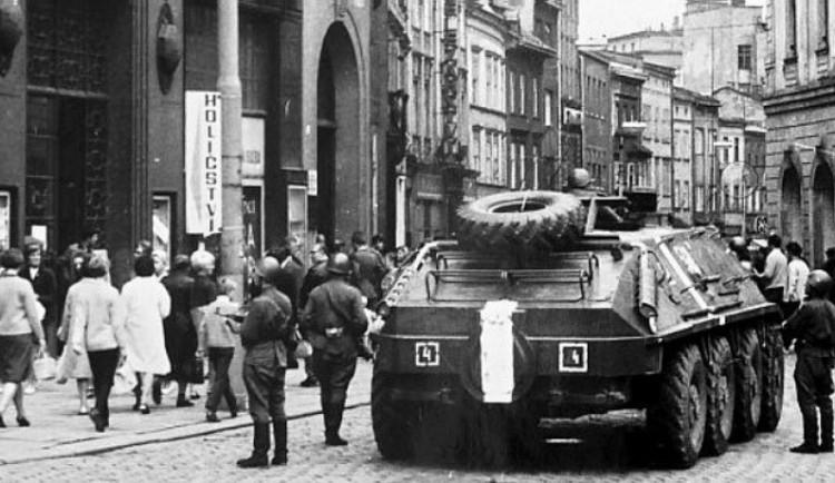 Na Horním náměstí v Olomouci si dnes připomeneme události 21. srpna 1968 a 1969