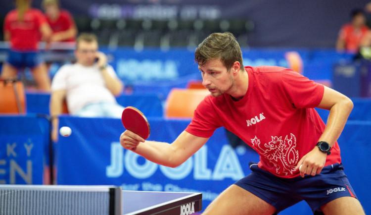 V Olomouci začal v úterý Czech Open ve stolním tenisu