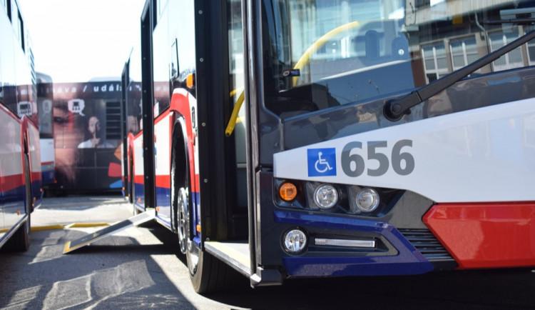 Olomoucký dopravní podnik přepravuje čím dál více cestujících, meziročně o 1,6 milionů lidí