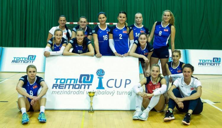 Olomoucké volejbalistky po sedmi letech opustily trůn přípravného poháru. Vyhrálamaďarská Nyiregyháza