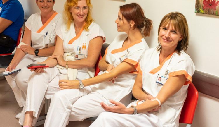 Rehabilitační oddělení se zúčastnilo prvního skupinového odběru krve zaměstnanců ve Fakultní nemocnici Olomouc