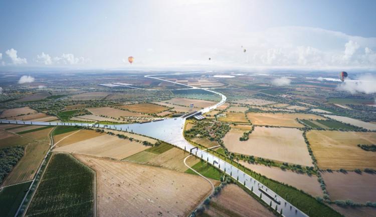 Přes padesát starostů měst a obcí z našeho kraje chce pozastavit kanál Dunaj-Odra-Labe