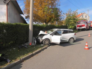 dopravní nehoda v Radotíně