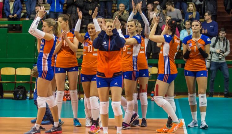 Olomoucké volejbalistky bojují o základní skupinu Champions League. V úterý se představí doma
