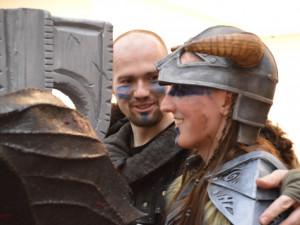 Cosplayeři v Šantovce