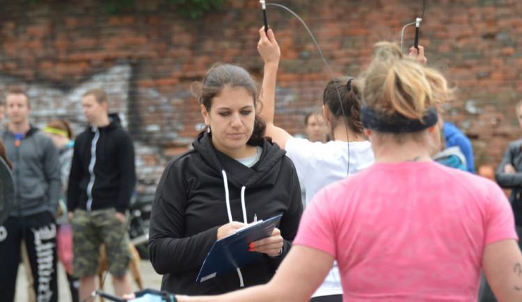 FOTO: Svaly a pot. Při víkendových Sokol Games poměřily desítky siláků dovednosti v různých disciplínách