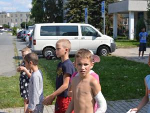 FOTO: Děti z olomouckého dětského domova se svezly v luxusních autech