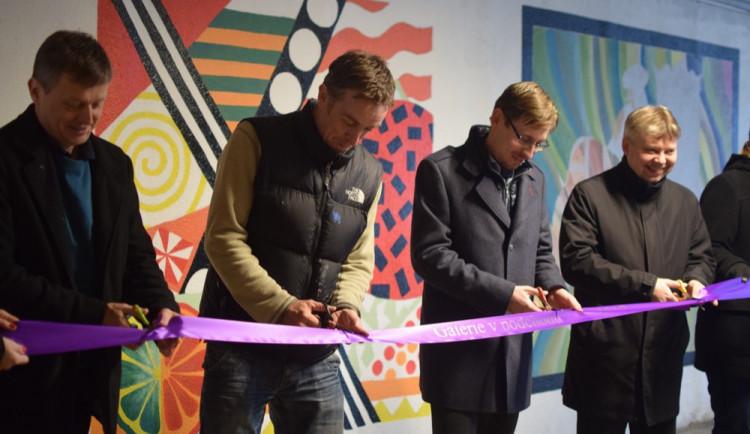 Slavnostní otevření Galerie vpodchodu