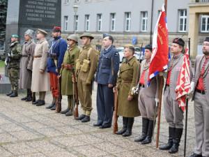 Podívejte se, jak probíhal pietní akt u pomníku T G. Masaryka k 28. říjnu