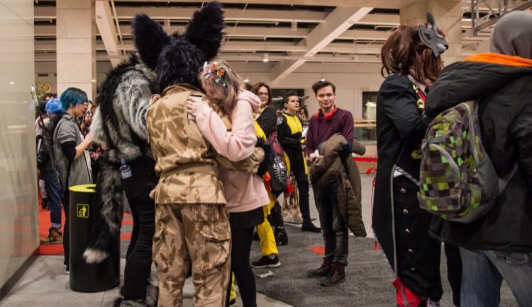 FOTOGALERIE: Šantovku dnes ovládly desítky cosplayerů. Podívejte se na nádherné masky!