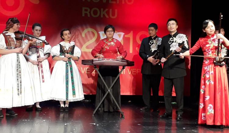 Oslavy čínského nového roku v Divadle na Šantovce