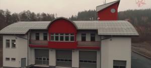 PS KONICE HZS OLK - slavnostní otevření nové požární stanice v Konici