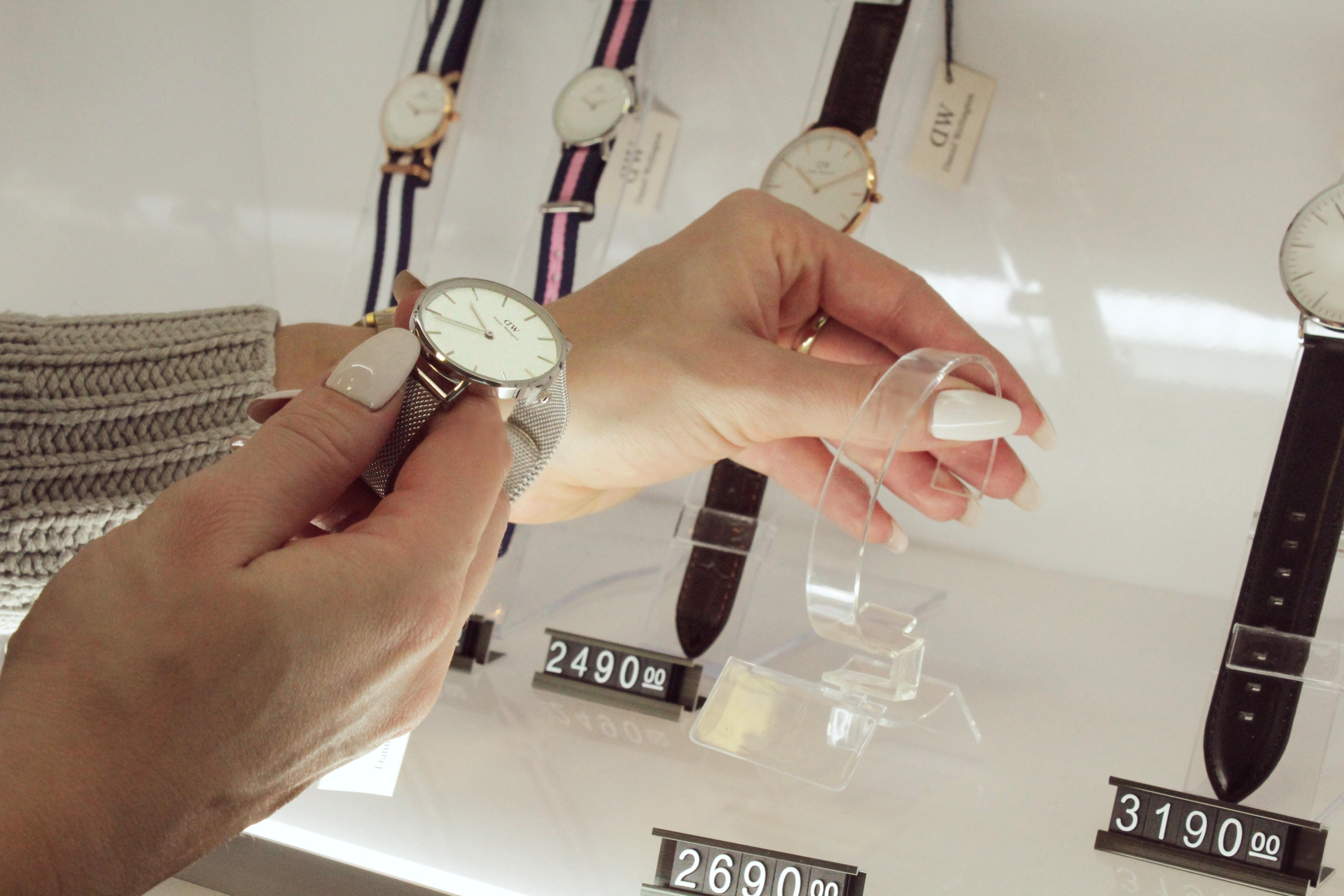 """b5a64f700 """"Častější je nákup dámských hodinek, asi tak v poměru šedesát ku čtyřiceti."""